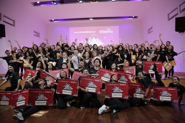 Keseruan Audisi Indonesia Menuju Broadway