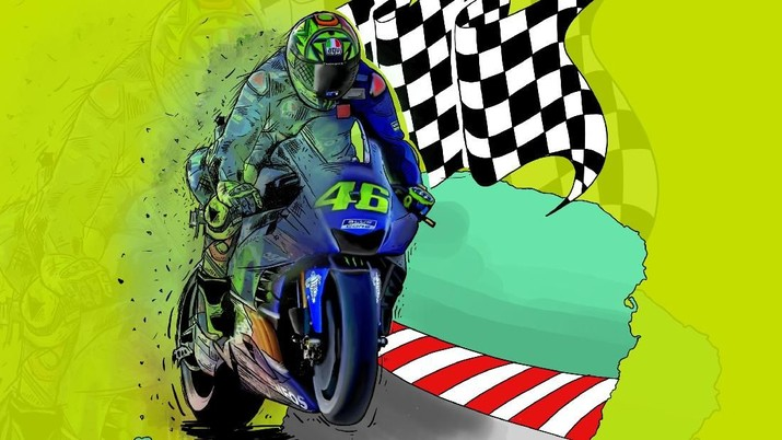 Indonesia secara resmi akan menjadi salah satu ruan rumah ajang balap motor bergengsi MotoGP pada 2021