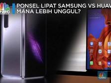 Pertarungan Ponsel Layar Lipat: Samsung Vs Huawei