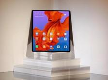 Huawei Mate X, Ponsel Lipat 5G Canggih Tanpa Gmail & Maps Cs