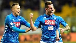 Napoli Belum Putus Asa Lawan Arsenal