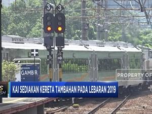 KAI Tambah 50 Kereta Pada Lebaran 2019