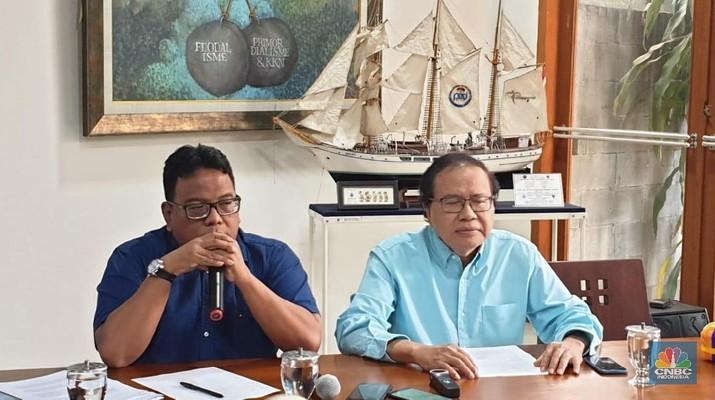Rizal Ramli bilang perekonomian Indonesia bakal 'nyungsep' di tahun 2019.