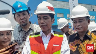 Jokowi Tunggu Pemilik Konsesi Kembalikan Lahan Besar