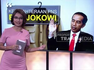 Jurus Jokowi Sejahterakan PNS