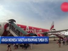 Airasia Indonesia Targetkan Kenaikan Jumlah Penumpang 15%