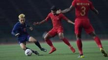 Babak Pertama: Timnas Indonesia U-23 Tertinggal dari Thailand
