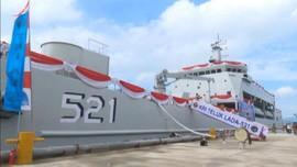 VIDEO: TNI AL Resmikan KRI Teluk Lada 521