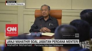 Janji Mahathir soal Jabatan Perdana Menteri Malaysia