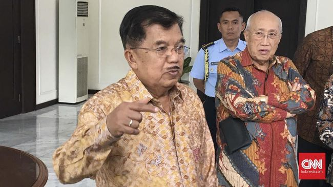JK Sarankan Pertemuan Jokowi-Prabowo Disegerakan