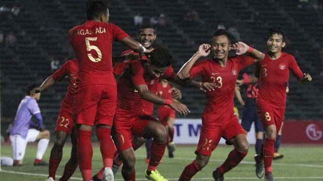 Babak I: Timnas Indonesia U-23 Unggul 1-0 atas Bali United