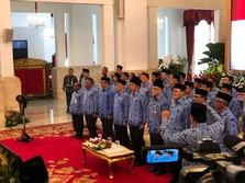 Di Depan PNS, Jokowi Bicara Cryptocurrency Sampai Bitcoin