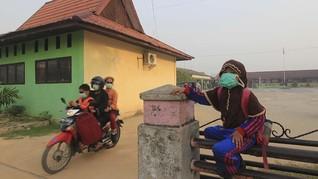 FOTO: Siaga Darurat Kebakaran Hutan dan Lahan di Riau