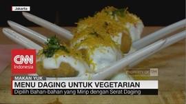 Menu Daging untuk Vegetarian