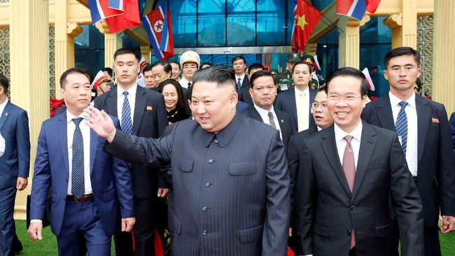 Tiba di Vietnam, Kim Jong-un Kunjungi Kedubes Korut di Hanoi
