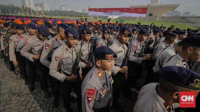 Amankan Debat Ketiga, Polda Terjunkan 5.000 Personel Gabungan
