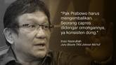 Inas Nasrullah, Juru Bicara TKN Jokowi-Ma'ruf.