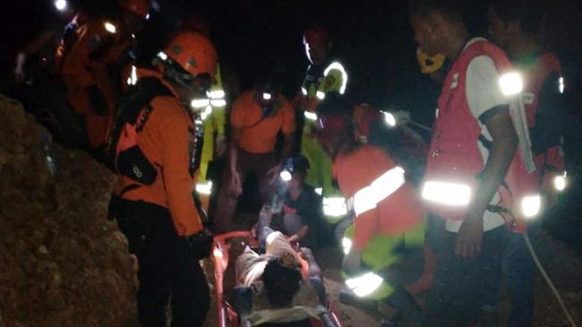 Evakuasi Korban Tambang Emas di Sulut, 4 Korban Tewas