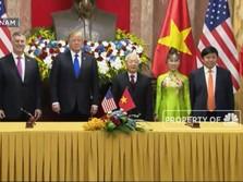 Trump Bertemu Presiden Vietnam