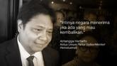 Airlangga Hartarto, Ketua Umum Partai Golkar/Menteri Perindustrian.