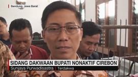 Sidang Dakwaan Bupati Nonaktif Cirebon