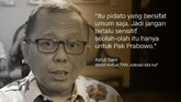 Arsul Sani, Wakil Ketua TKN Jokowi-Ma'ruf.