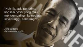 Saling Sindir soal Pidato Jokowi tentang Pengembalian Lahan