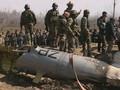 FOTO: India-Pakistan Saling Tembak Jatuh Pesawat di Kashmir