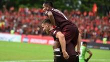 PSM Unggul 2-0 atas Persib di Babak Pertama
