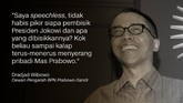 Dradjad Wibowo, Dewan Pengarah BPN Prabowo-Sandi.