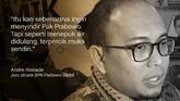 Andre Rosiade, Juru Bicara BPN Prabowo-Sandi.