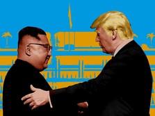 Kim Jong Un Dikabarkan Kritis, Trump: Fake News!