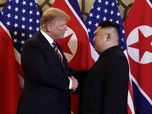 Pertemuan Babak II, Trump & Kim Kembali Tebar Janji Manis