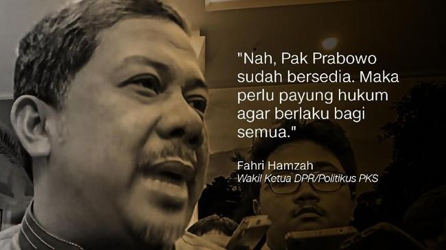 Fahri Hamzah, Wakil Ketua DPR/Politikus PKS.