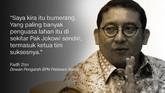 Fadli Zon, Dewan Pengarah BPN Prabowo-Sandi.