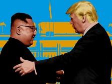 Menginjakkan Kaki di Korut, Trump Ajak Kim Jong-un ke AS