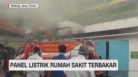 Panel Listrik RS di Malang Terbakar