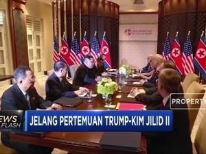 Bukan Pertemuan Pertama,Trump-Kim Pernah Bertemu di Singapura