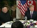 VIDEO: Trump dan Kim Jong-un Santap Malam Bersama Jelang KTT