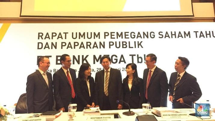 RUPS Bank Mega (CNBC Indonesia/Monica Wareza)