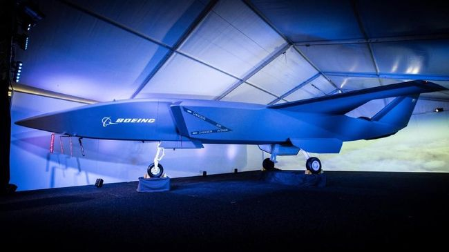 Boeing Bakal Luncurkan Pesawat Tempur Tanpa Awak di 2020