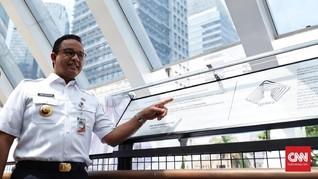 Jawab Menhub, Anies Sebut LRT Bukan Penyebab Banjir Jakarta