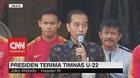Presiden Jokowi Terima Timnas U-22