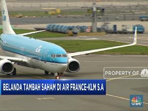 Belanda Tambah Saham Air France-KLM SA