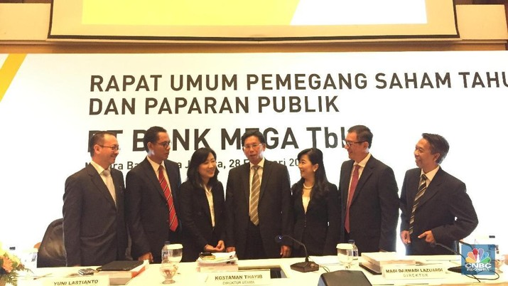 Sepanjang 2018 Laba Bank Mega Naik 23% Jadi Rp 1,69 T