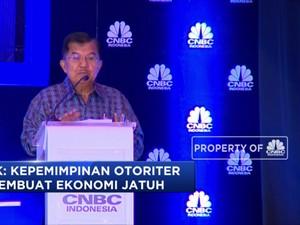 JK: Jokowi Bukan Otoriter tapi Apa Saja Dirapatkan