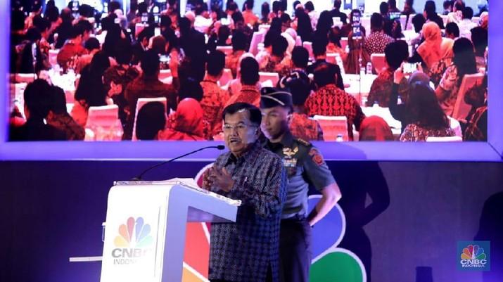 Wakil Presiden Jusuf Kalla menekankan soal pentingnya sektor pertanian, di mana pendapatan petani paling rajin lebih rendah dibanding UMR Industri