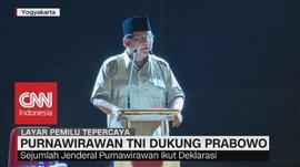 Purnawirawan TNI Dukung Prabowo