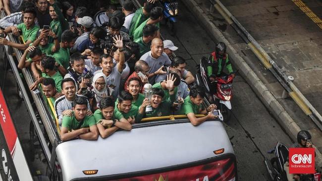 Selain kualifikasi Piala Asia U-23, Timnas Indonesia juga dipersiapkan menghadapi SEA Games 2019. (CNN Indonesia/Adhi Wicaksono)