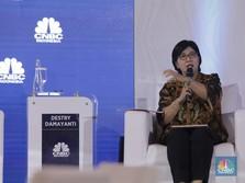 Ditemani Sang Anak, Destry Damayanti 'Ujian' Calon DGS BI